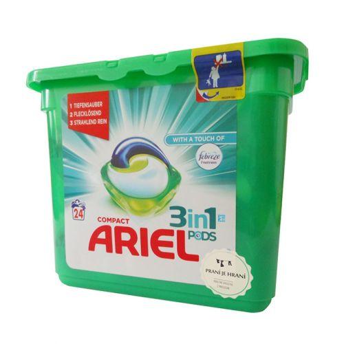ARIEL Febreze 3v1 prací kapsle 24 ks