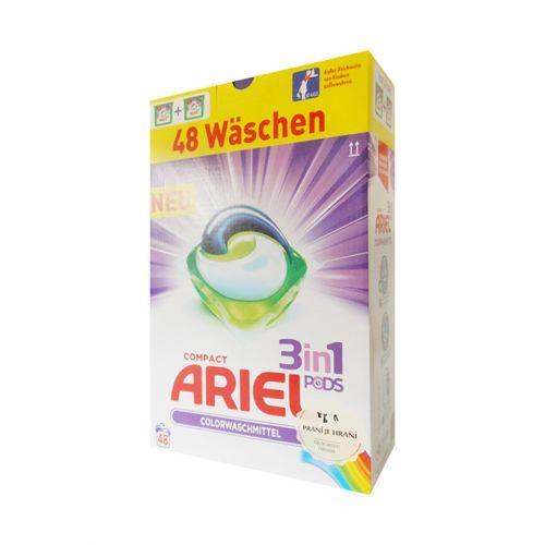 ARIEL Color 3v1 prací kapsle 48 ks