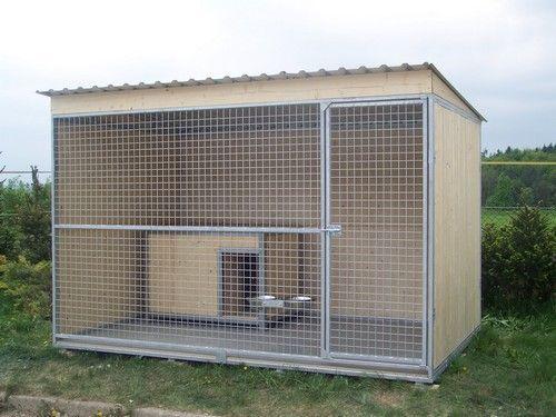 Kotec pro psy 2x2 m