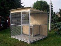 Kotec pro psy sítěný 2x2 m