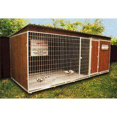 Kotec pro psy s přístavkem 2x2 m