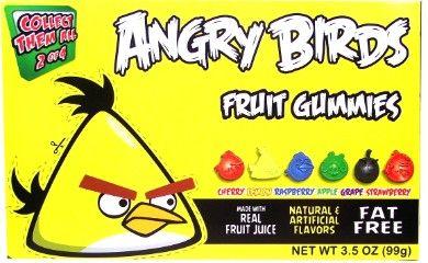 Angry Birds Gummies YELLOW Box 99 g