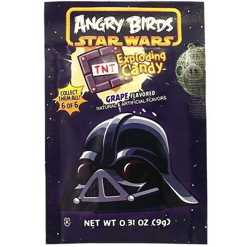 Angry Birds Star Wars Pop Rocks Grape 9 g