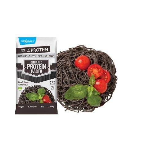 Maxsport Proteinové těstoviny černá fazole