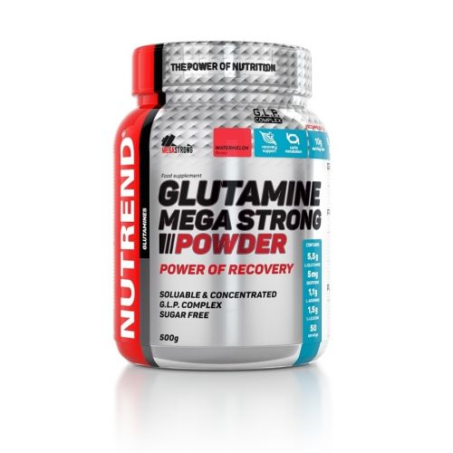 Nutrend Glutamine Mega Strong Powder meloun 500 g
