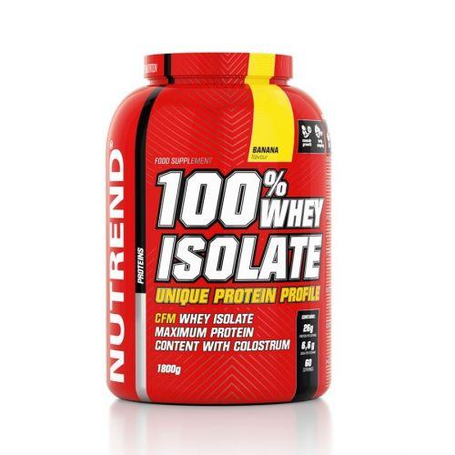 Nutrend 100% WHEY Isolate čokoláda 1800 g