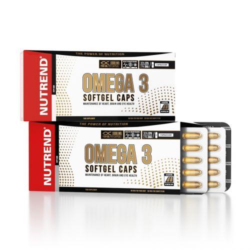 Nutrend Omega 3 Softgel Caps 120 kapslí