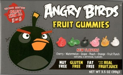 Angry Birds Theatre Box 2nd Edition Gummies BLACK box 99 g