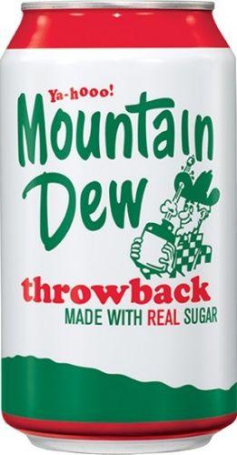 Pepsi Mountain Dew Throwback 355 ml cena od 37 Kč