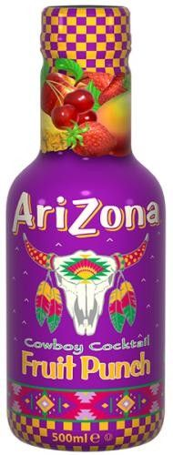 Arizona ovocný nápoj Fruit punch 500 ml