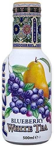 AriZona White Tea Blueberry Bílý čaj s příchutí borůvek 500 ml