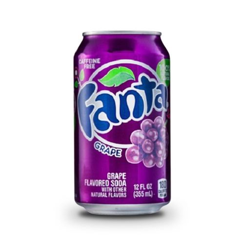 Coca-Cola Fanta grape hroznové víno USA 355 ml