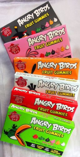 Angry Birds Combo Theatre Box 2nd Edition Gummies box 12 x 99 g