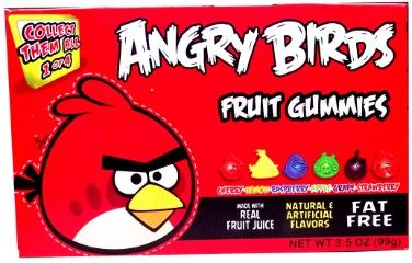 Angry Birds Gummies RED Box 99 g