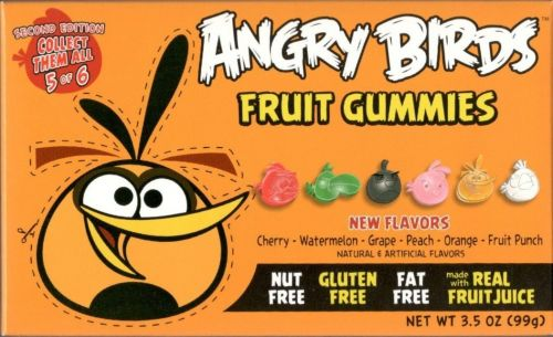 Angry Birds Theatre Box 2nd Edition Gummies ORANGE box 99 g