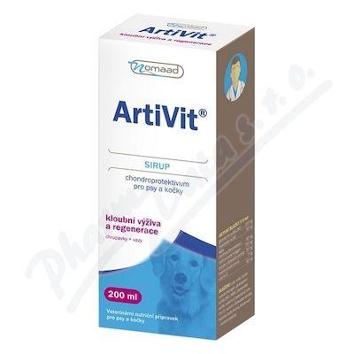 VITAR Nomaad Artivit Sirup 200 ml
