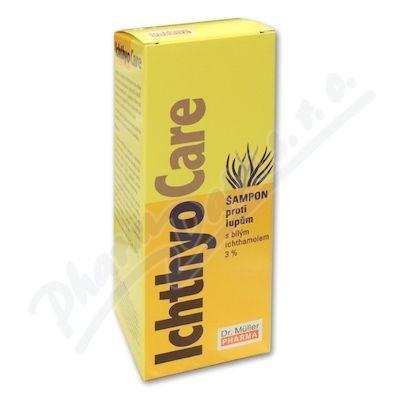 DR MULLER Ichthyo Care šampon proti lupům 3% 200 ml