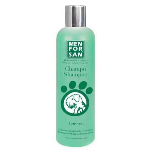 MenForSan Přírodní, zklidňující, léčivý šampon s výtažky z Aloe Vera 300 ml
