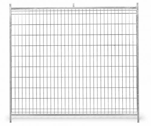 GAUN Stěna venkovního boxu 1,5 x 1,85 m pro psy z pletiva