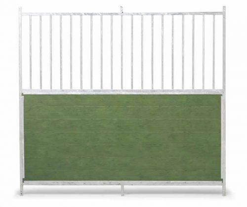 GAUN Stěna venkovního boxu 1,5 x 1,85 m pro psy kombinace tyčoviny a PVC