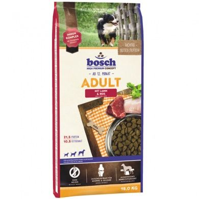 Bosch HPC Adult Lamb & Rice 15 kg cena od 605 Kč