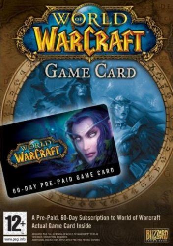 World of Warcraft 60 days Game Card pro PC cena od 749 Kč