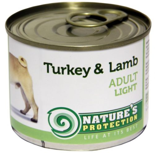 Natures Protection Adult Light Turkey and Lamb 200 g