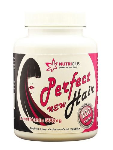 NUTRICIUS Perfect HAIR new methionin 500 mg 100 tablet