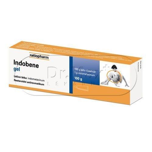 Indobene gel 100 g cena od 97 Kč