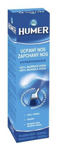 HUMER 100% mořská voda hypertonická 50 ml cena od 146 Kč