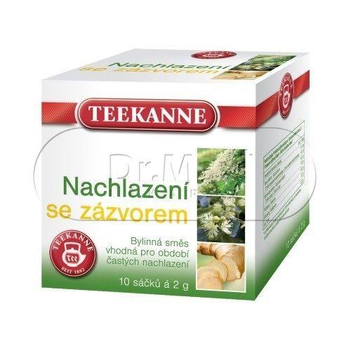 TEEKANNE Nachlazení se zázvorem bylinný čaj 10x2 g cena od 42 Kč