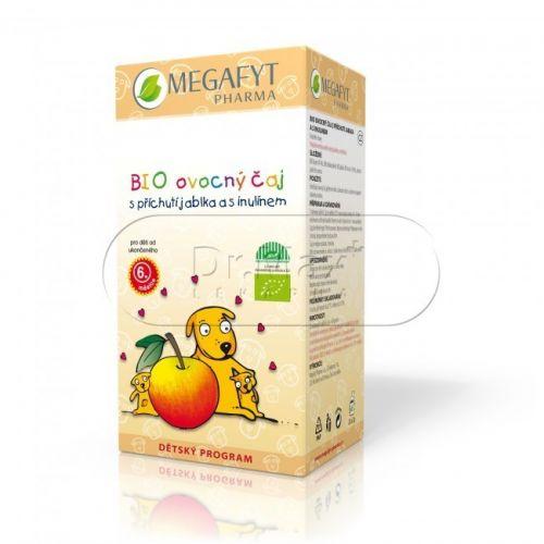 Megafyt Dětský BIO Ovocný čaj jablko s inulinem 2 g 20 sáčků
