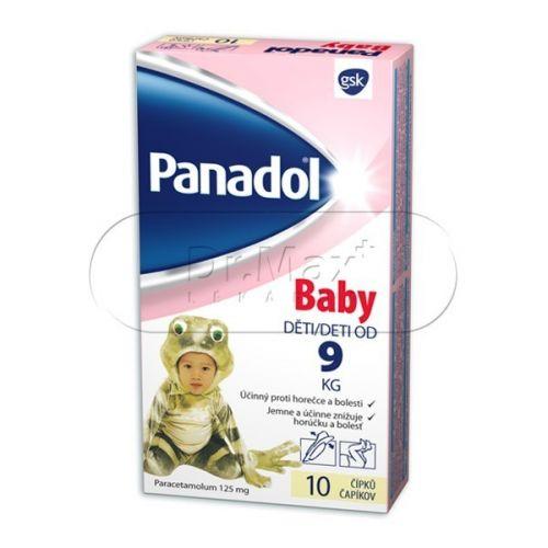 Panadol Baby 10 čípků cena od 45 Kč