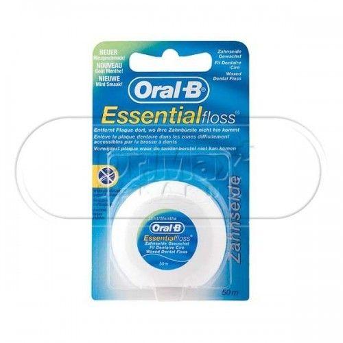 Oral-B EssentialFloss zubní nit voskovaná 50 m