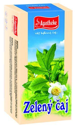 APOTHEKE Zelený čaj 20x1,5 g cena od 39 Kč