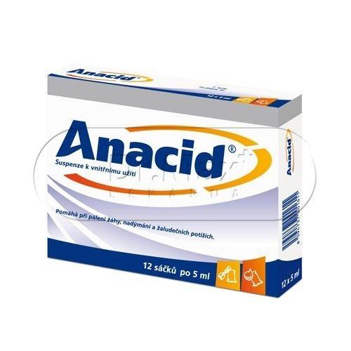Anacid 5 ml 12 sáčků cena od 51 Kč