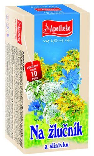 APOTHEKE Na žlučník a slinivku čaj 20x1,5 g