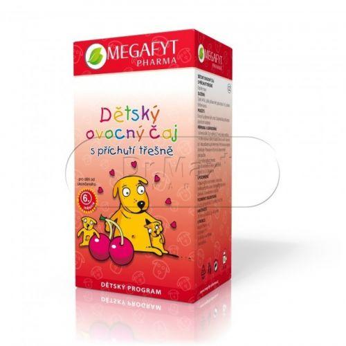 Megafyt Dětský ovocný čaj s příchutí třešně 20x2 g cena od 42 Kč