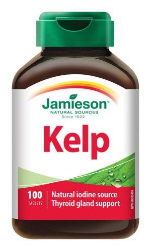 JAMIESON Kelp mořské řasy 650 mcg 100 tablet