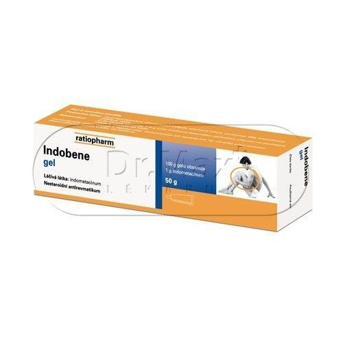 Indobene gel 50 g cena od 54 Kč