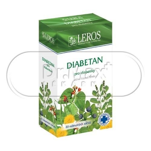 LEROS Diabetan 20x1 g cena od 55 Kč