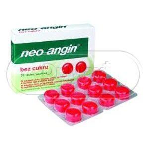 Neo-Angin bez cukru 24 tablet cena od 109 Kč