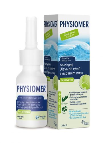 XXL obrazek PHYSIOMER Eukalyptus 20 ml