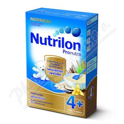 Nutrilon kaše Pronutra mléčná vanilková 225 g