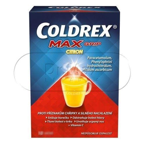 Coldrex Maxgrip Citron 5 sáčků cena od 109 Kč