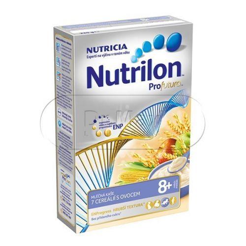 Nutrilon Profutura mléčná kaše 7cereálií ovoce 8M 225 g