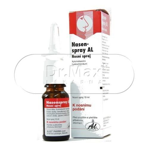 XXL obrazek Nasen spray AL 10 mg 10 ml