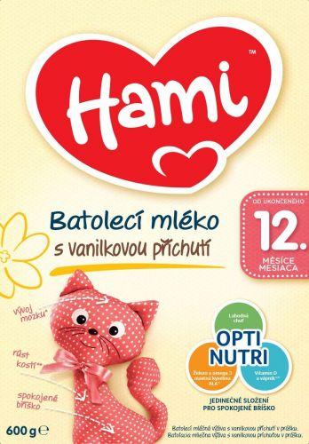 Hami 12+ Vanilka 600 g