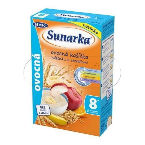 Sunarka ovocná kašička mléčná 225 g