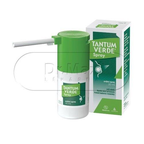 Tantum Verde Spray ústní sprej 0,15% 30 ml cena od 164 Kč